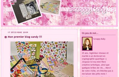 Blog candy chez Mai, alias Scrappy Baby!
