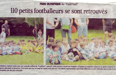 ARTICLE/PHOTOS DAUPHINE LIBERE FESTIFOOT ALBERTVILLE 8 JUIN 2013