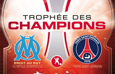 TROPHEE DES CHAMPIONS 2010/2011 : OM 5/4 (tab) PSG BUTS & RESUME