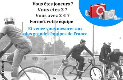 Tours 9 mars 2013 : Tournois de bike polo !