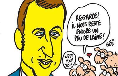 La Loi Macron vue par Charb