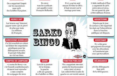 Les 12 mensonges répétitifs de Sarkozy pendant ses meetings