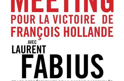 Meeting de soutien à François Hollande ce 24 Avril à Val-de-Reuil