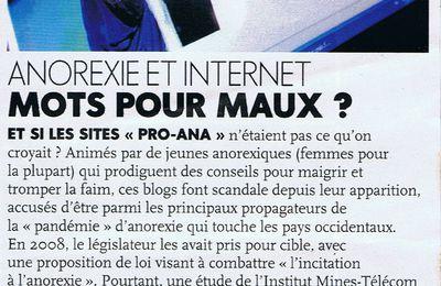 Anorexie et internet: mot pour maux?