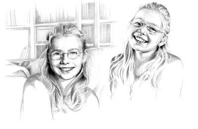 Je dessine souvent des princesses, mais jamais la notre… c'est chose faite !