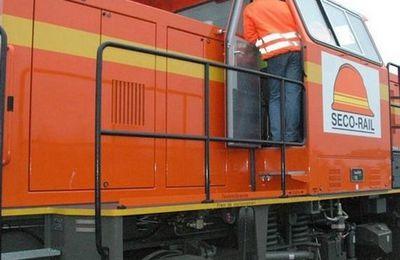 Sécorail : les trains privés à St Varent pour desservir les carrières