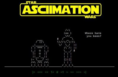 Star Wars en mode ASCII