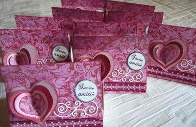 Boites pour la Saint Valentin