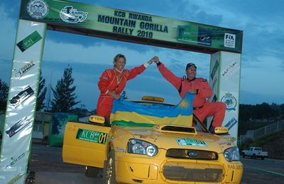 DAVITE & VINDEVOGEL sont au Bandama Rally.....