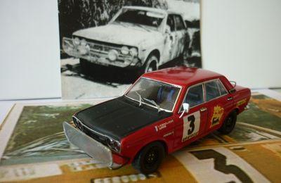 Datsun 1600 SSS Bandama 70', miniature 1/43ème.....