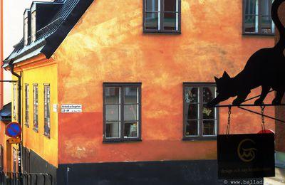 Stockholm, les maisons de Södermalm
