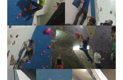 OVERGNIAK Contest à la salle d'escalade Casamur.