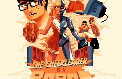 The Cheerleader is a robot !