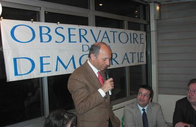 Laurent Fabius - Vote Blanc-Vote obligatoire