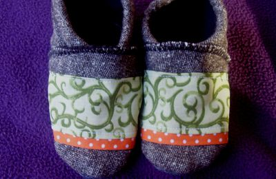 Chaussons d'hiver 12-18 mois (n°5)