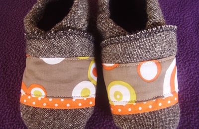 chaussons d'hivers 12-18 mois (n°2)