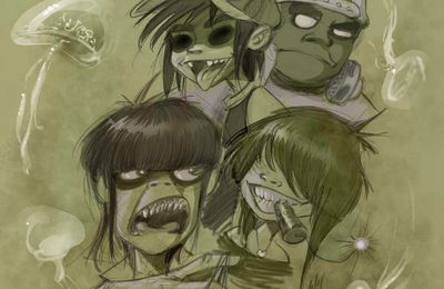 Gorillaz fan'art