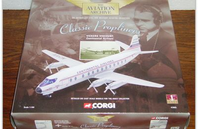 "The Aviation Archive ""Classic Propliners"" by Corgi."