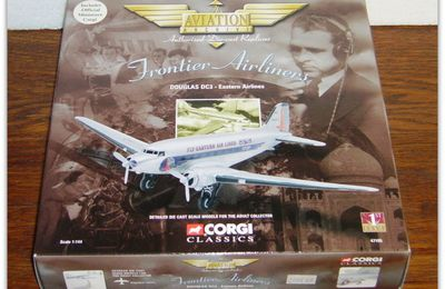 "The Aviation Archive ""Frontier Airliners"" by Corgi."
