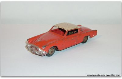 "Studebaker Commander ""ref 24Y"" MIF by Dinky Toys."