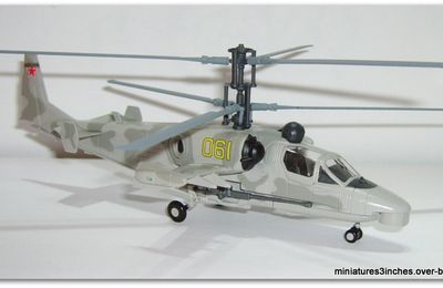 "KAMOV KA-52 ""Alligator"" by Altaya."