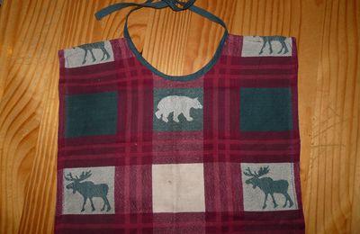 serviette de table pour enfant