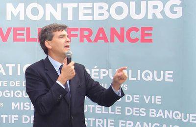 UN SEUL VOTE DIMANCHE 9 octobre : Arnaud MONTEBOURG