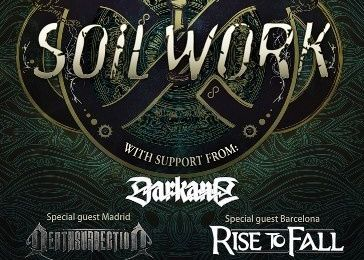 SOILWORK @ Shoko, Madrid, Spain - March 05 2014