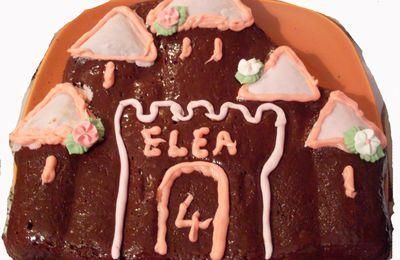 Gâteau moelleux au chocolat.