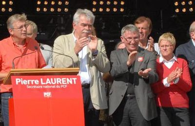 Intervention de Pierre Laurent en clôture de la Fête de l'Huma 2010