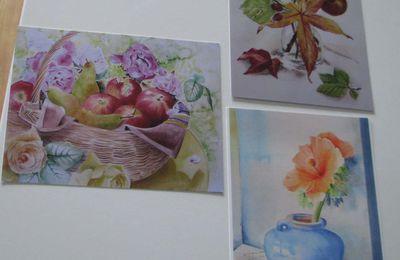 Intermède avec de jolies aquarelles et une petite proposition !