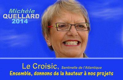 Municipales 2014 : oral réussi pour Michèle Quellard et son équipe