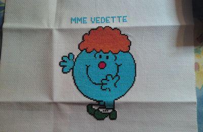 Madame vedette (grille gratuite)