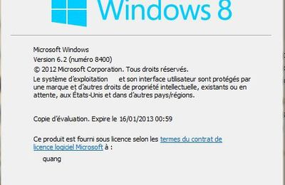 Installer Windows 8 RTM Professionel (1).