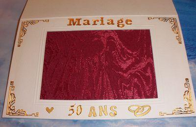 Pour les 50 ans de mariage