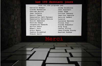 Les 100 derniers jours, générique
