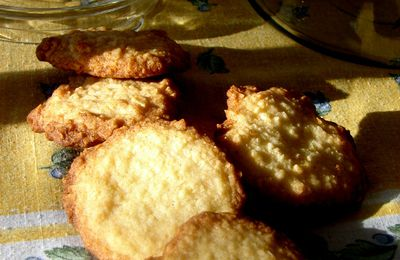 Biscuits à l'orange et aux amandes
