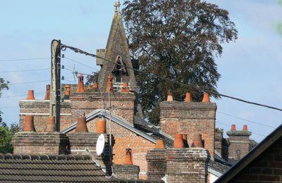 Sur les toits de Pont-de-l'Arche