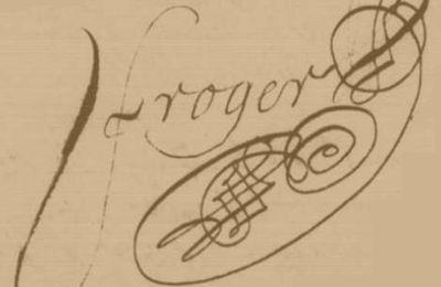 Signature de Jean FROGER, maître d'écoles