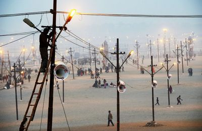 The Maha Kumbh Mela Grounds Allahabad
