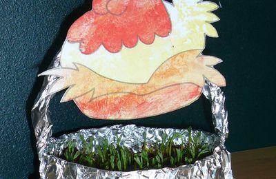 Petits paniers de Pâques