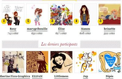 Concours d'illustrations Glamour