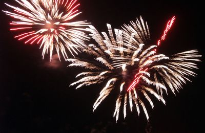 Sites en scène et feu d'artifice à Chatelaillon-Plage