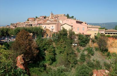 Roussillon - village coloré