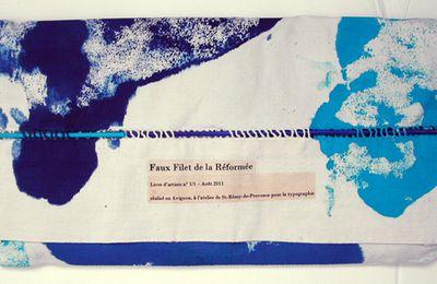 Livre d'artiste, Faux Filet de la Réformée