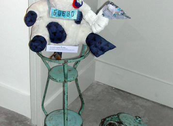 Exposition de fin de Résidence d'artiste avril juin 2011