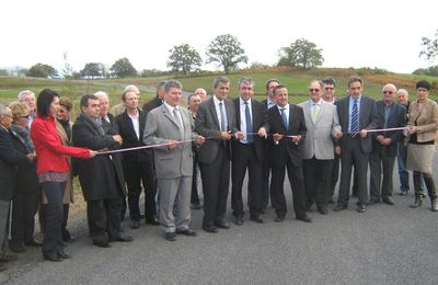 "Inauguration de la ZAC des ""4 routes de Salers"""