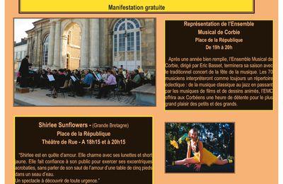 CORBIE fête la musique le mardi 21 juin 2011 - Manifestation gratuite