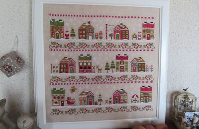 Country Cottage Needleworks - Village Santa