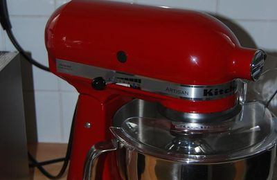 Super gâtée: Kitchenaid Artisan!